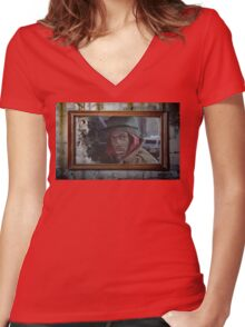 Eddie Murphy - Trading Places Women's Fitted V-Neck T-Shirt