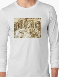 Collage - Arches Long Sleeve T-Shirt