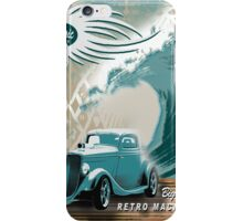 beach roadster  iPhone Case/Skin