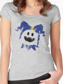 Frosty Splat! Women's Fitted Scoop T-Shirt