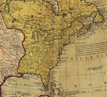 Map of North America (1765) Sticker