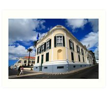Palace in Azores Art Print