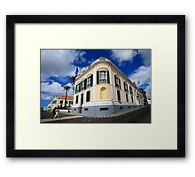 Palace in Azores Framed Print