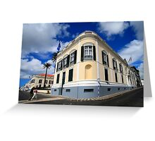 Palace in Azores Greeting Card