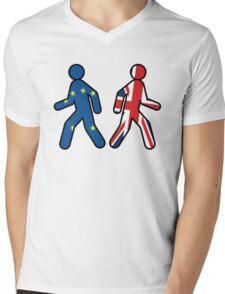 UK Leaving The EU Mens V-Neck T-Shirt