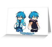 Aoba Seragaki - Sly Blue - DRAMAtical Murder Greeting Card