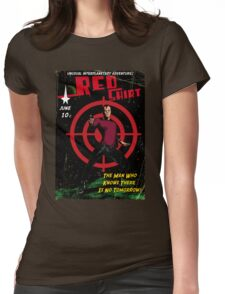 Red Shirt Womens Fitted T-Shirt