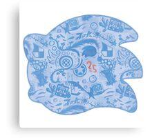 25yo Hedgehog! Canvas Print