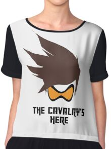 The Cavalry's Here - Light Chiffon Top