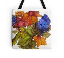Floral Celebration Tote Bag