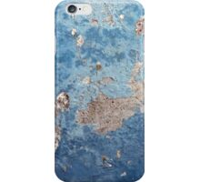 Blue Abstract Background Texture iPhone Case/Skin