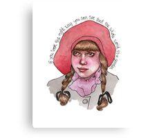 Mary Lennox Canvas Print