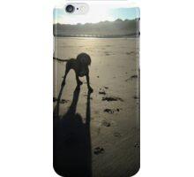 Honey on a sandy beach iPhone Case/Skin