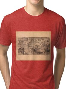 Map of the World (1581) Tri-blend T-Shirt