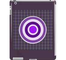 bullseye with grid iPad Case/Skin