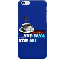 And Java For All iPhone Case/Skin