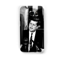 President John F. Kennedy Men to the Moon Speech May 25 1961 Samsung Galaxy Case/Skin