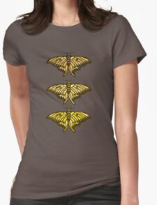 Golden Moth Womens Fitted T-Shirt