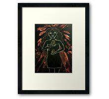 Goddess - Pele Framed Print