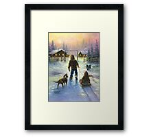COCOA TIME Framed Print
