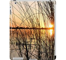 Sunset Through the Reeds iPad Case/Skin