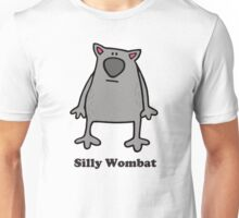 SILLY WOMBAT! Unisex T-Shirt