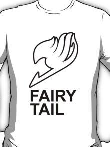 Fairy Tail Anime Guild Mark Logo Render Design T-Shirt