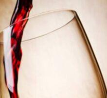 Glass Case Wine Sticker
