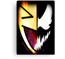Comical Carnage Large Logo Canvas Print