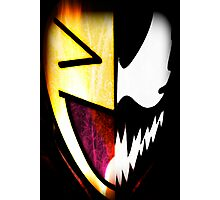 Comical Carnage Large Logo Photographic Print