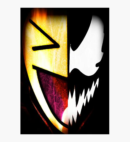 Comical Carnage Large Logo Photographic Print