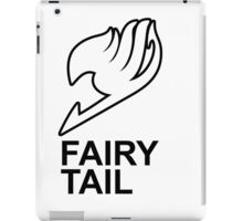 Fairy Tail Anime Guild Mark Logo Render Design iPad Case/Skin