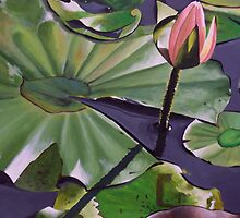 Monet's Waterlilly by Tanagra Studios