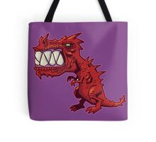 Fiendish T-Rex Tote Bag
