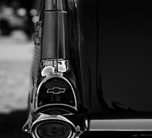 57 Chevy Tail Light by Splendiferous Images