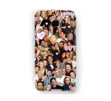 Gillian Anderson and David Duchovny collage Samsung Galaxy Case/Skin