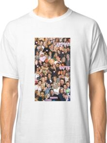 Gillian Anderson and David Duchovny collage Classic T-Shirt