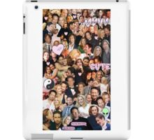 Gillian Anderson and David Duchovny collage iPad Case/Skin