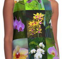 Elegant Orchids Contrast Tank