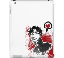 Sherlock Holmes- Red Version iPad Case/Skin
