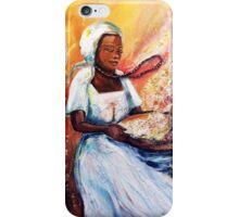 Winnowing Malawi Lady iPhone Case/Skin