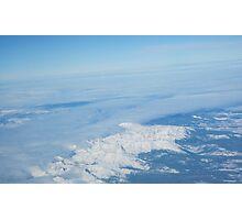 Snowcaps Photographic Print