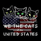 We The Cats Of The United States Dark by funnypixel
