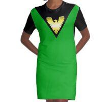 Classic Phoenix Graphic T-Shirt Dress