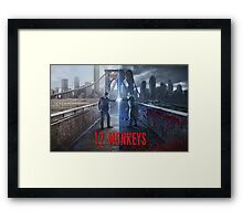 12 Monkeys Framed Print