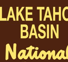 Lake Tahoe Basin National Forest Sticker