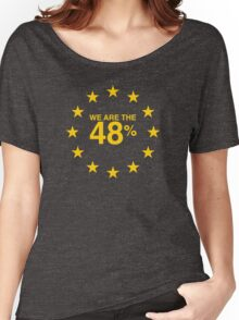 I voted Remain 48% Women's Relaxed Fit T-Shirt
