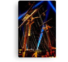 Lightin' in the Riggin' - Dark Mofo 2014 Canvas Print