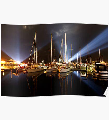 Marina Lights - Dark Mofo 2014 Poster