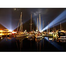 Marina Lights - Dark Mofo 2014 Photographic Print